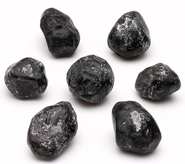 pieces of raw apache tears obsidian
