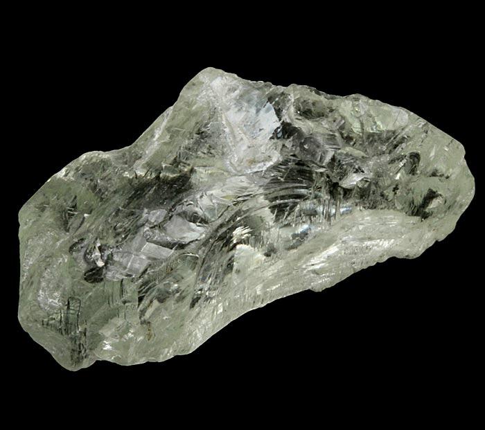 raw piece of hiddenite
