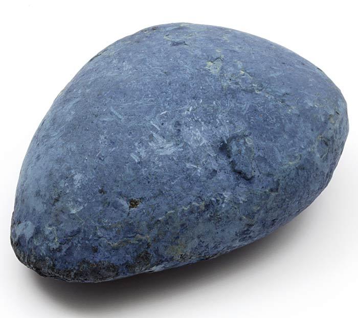 natural vivianite pebble